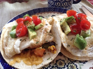 Huevos Rancheros with a sweet potato twist!